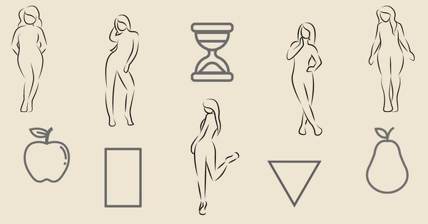 A női testalkat típusai