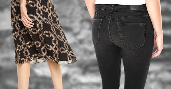 A szűk nadrág sem áll jól mindenkinek, akkor sem, ha még fiatal. A különböző fazonú nadrágok közül is válasszuk mindig az alkatunknak megfelelőt.